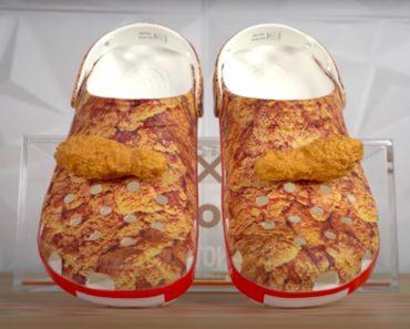 Listafriikin oudoimmat uutiset esittelee tällä viikolla muun muassa paistetulta kanalta tuoksuvat Crocsit. Lähtisivätkö sinun matkaasi?